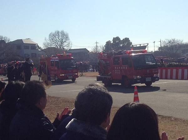 狭山市消防出初式より