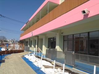 4月にオープンした祗園保育所