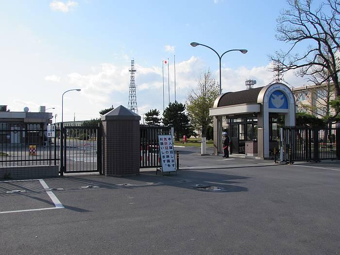 ブルーインパルスの本拠地、航空自衛隊松島基地。(猪股嘉直議員撮影)