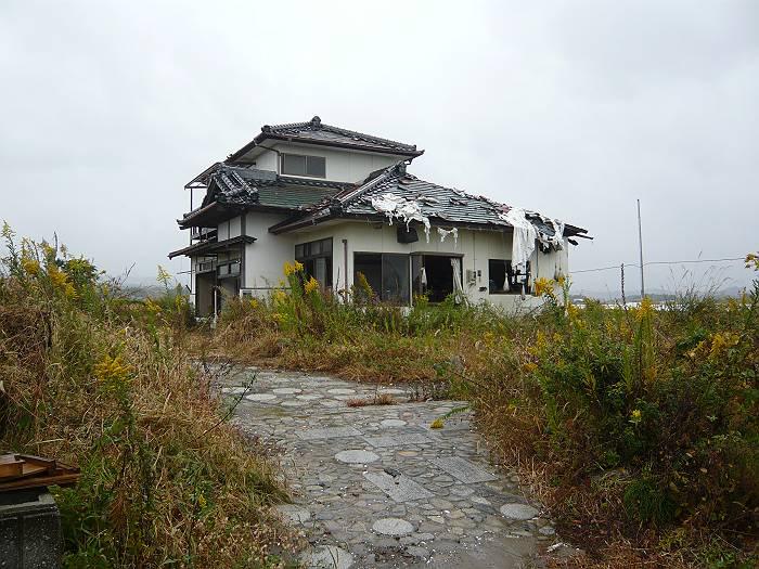 放射線が多く、入居できない新築の家