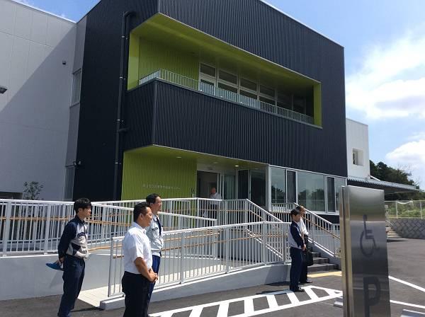 新しくオープンする堀兼学校給食センター