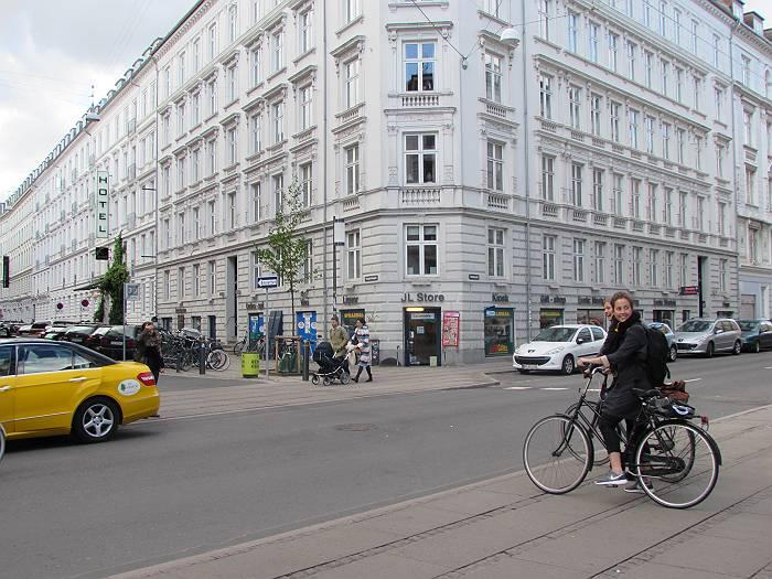 北欧は自転車が主要交通手段の一つ(コペンハーゲン)