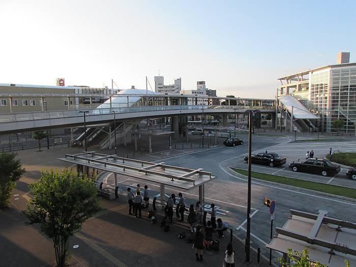 狭山市駅西口